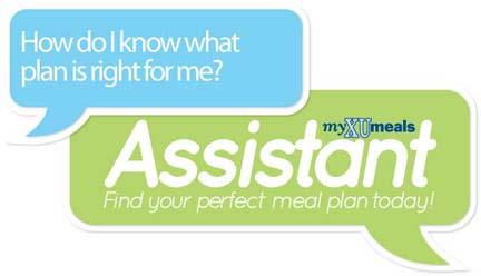 myXUmeals assistant logo