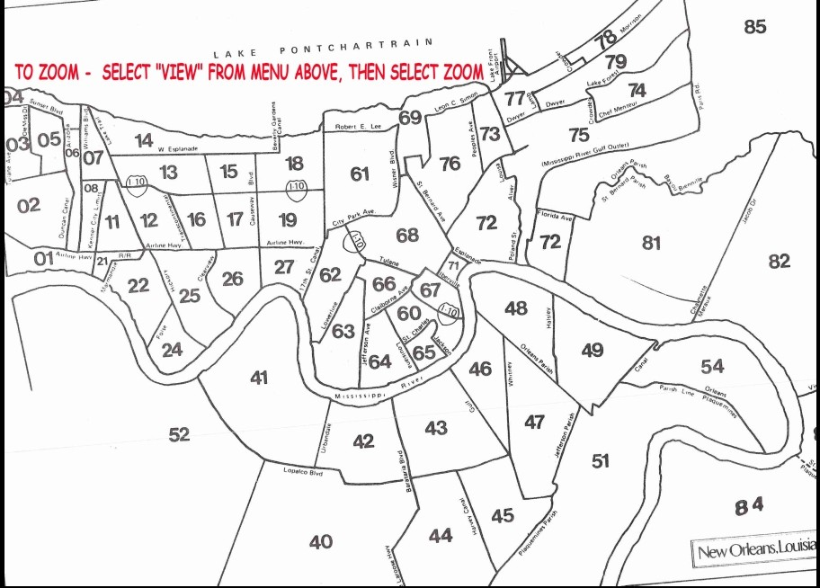 MLS AREA# MAP Used by Realtors. Each section has an MLS Area#. See instructions below map.