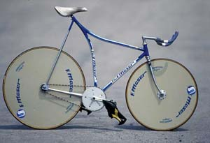 Hour record bike 1984