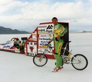 Land Speed record bike 1995
