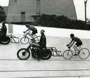 Stayer bike 1946