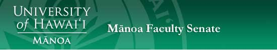 Manoa Faculty Senate