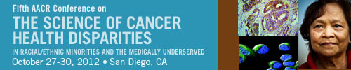 2012 Cancer Health Disparities logo