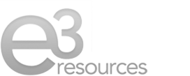 e3 Resources Logo