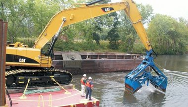 Dredging near Fort Edward. http://media.silive....