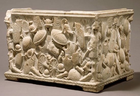 "The object below is from the Metropolitan Museum. <br> It was included in the Audio Tour ""The Rome of Augustus and Virgil."""