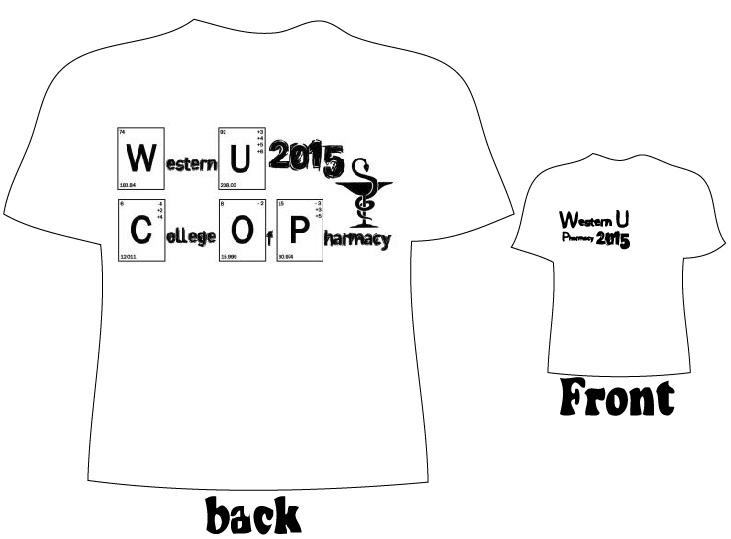 WesternU P1 Class of 2015 T-Shirt Design Poll Survey