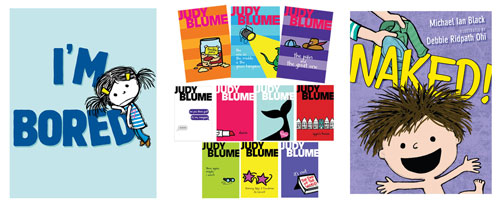 Covers of Debbie's illustration projects