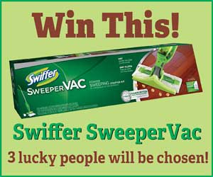 Win This! Swiffer Sweeper Vac