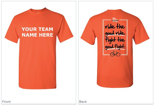 Bike ms team t shirts western pa escape ride 2012 survey for Same day custom t shirts nyc