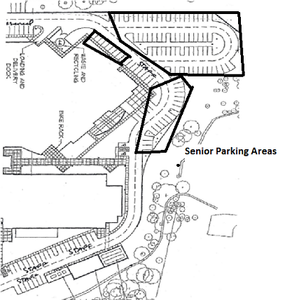 Senior Back Parking Lot