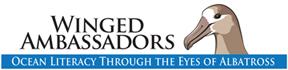 Winged ambassador logo