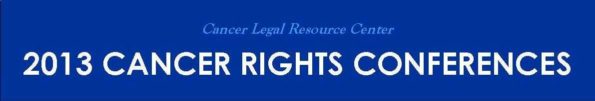 Cancer Rights Conference Logo