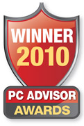 PC Advisor 2010 Awards Logo