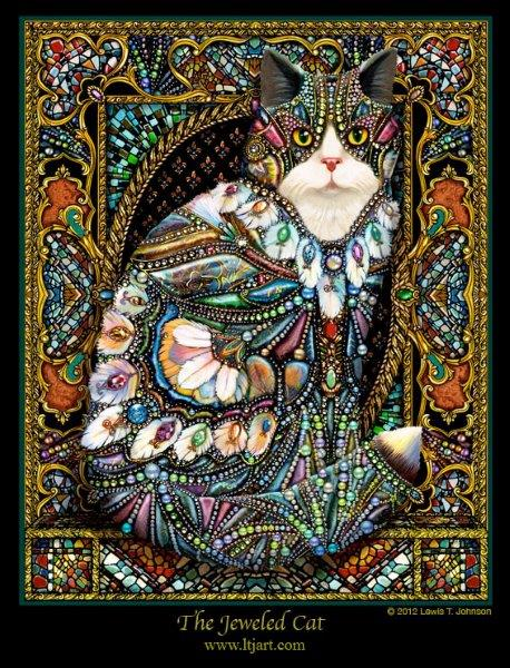 The Jeweled Cat