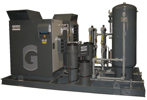 Instrument Utility Air Compressor Skid Package Survey