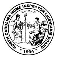 NC Home Inspector Licensure Board