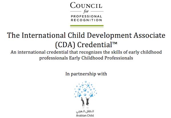 the international child development associate (cda) credential™ survey