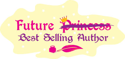Image A - Future Best Selling Author with Princess crossed out