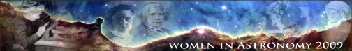 Women in Astronomy 2009 Conference Logo