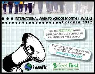 IWALK 2012 Post Card