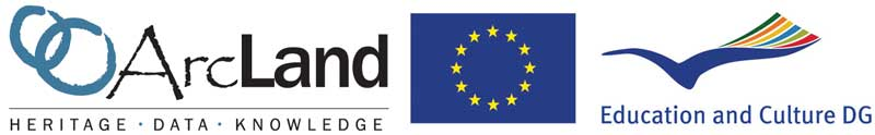 Archaeolandscapes and EU logo