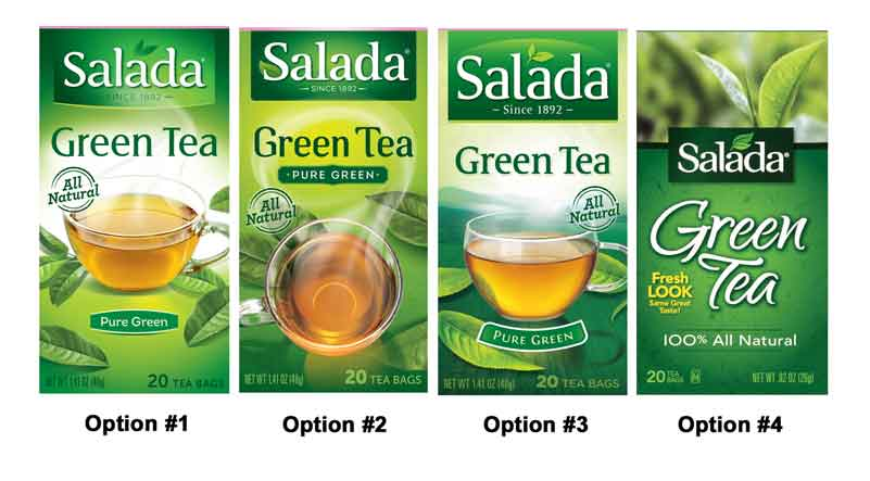 FREE Salada Tea sample...