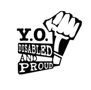 YO! Disabled and Proud logo