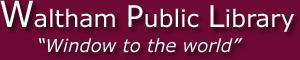 Waltham Public Library Logo