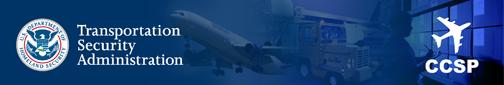 DHS/TSA CCSP banner
