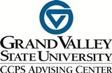 CCPS Advising Center below GVSU logo
