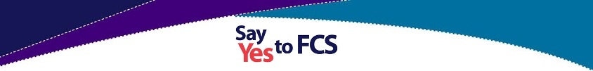 Say Yes to FCS Banner