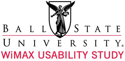 Ball State University - WiMAX Usability Study