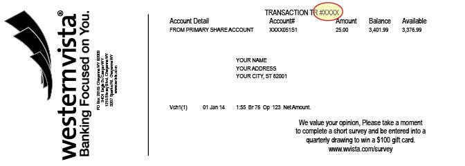 Transaction #
