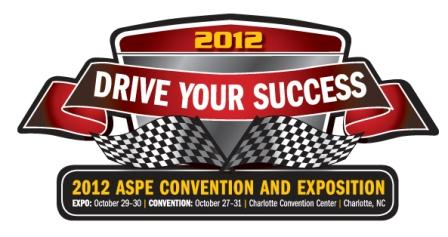 2012 ASPE Convention & Exposition