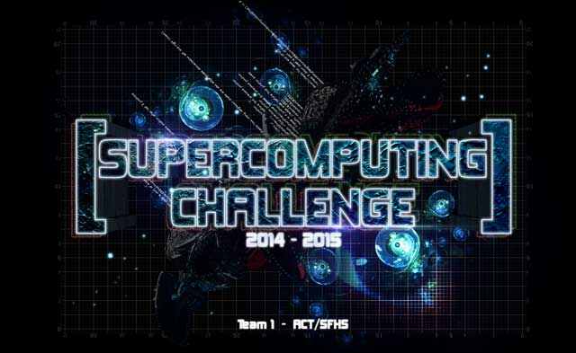 2014-15 Supercomputing Challenge logo