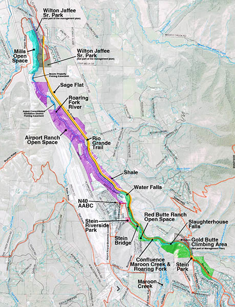 Roaring Fork Gorge Project Area