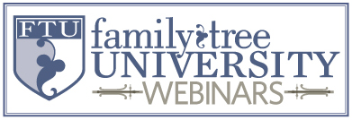 Family Tree University Webinars