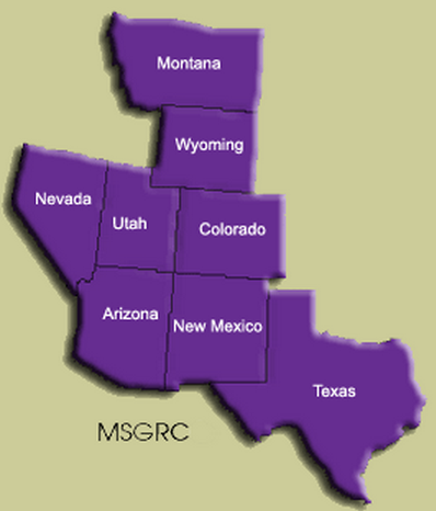The MSGRC Region