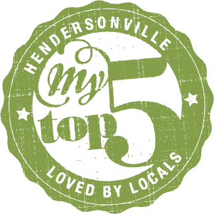 My Top 5 of Hendersonville
