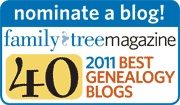 Family Tree Magazine 40 Best Genealogy Blogs