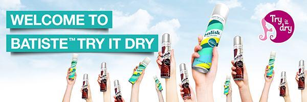 FREE Batiste Dry Shampoo Sampl...