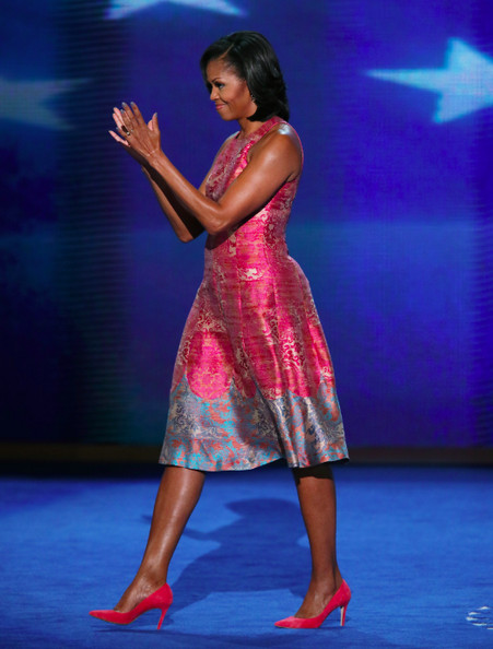 Everyone Is Talking About The White Dress Michelle Obama ...