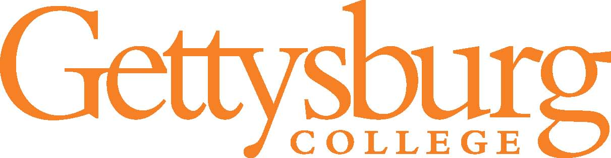 Gettysburg College Wordmark - orange