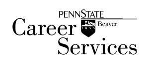 Penn State Beaver Career Services Logo