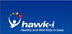 Iowa hawk-i web logo
