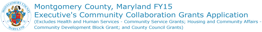 FY15 Executive Community Collaboration Grant