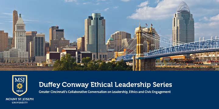 image: Duffey Conway Ethical Leadership Series