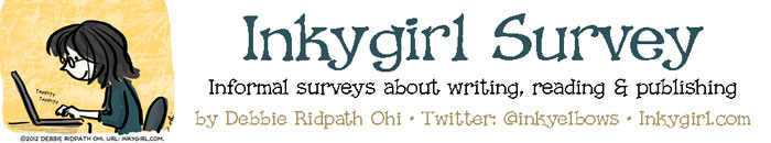 Inkygirl Survey - girl typing