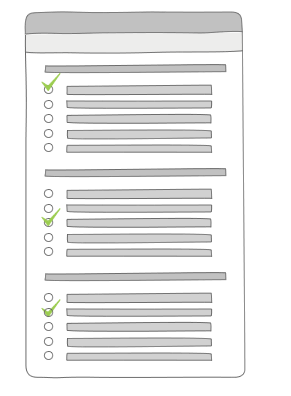 Market Research Survey Templates Illustration
